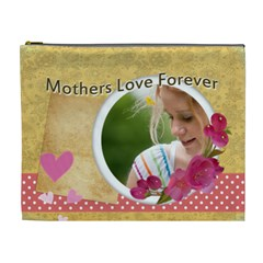 Mothers Day By Joely   Cosmetic Bag (xl)   Absg1qzjaek5   Www Artscow Com Front