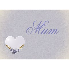 April   3d Card By Kdesigns   I Love You 3d Greeting Card (7x5)   Khiaf69ke9fu   Www Artscow Com Front