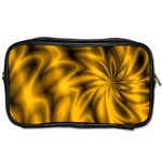 Golden Swirl Toiletries Bag (Two Sides)