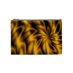Golden Swirl Cosmetic Bag (Medium)