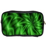 Green Swirl Toiletries Bag (Two Sides)