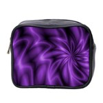 Lilac Swirl Mini Toiletries Bag (Two Sides)