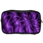 Lilac Swirl Toiletries Bag (Two Sides)