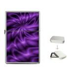 Lilac Swirl Flip Top Lighter