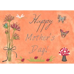 Mom Mothers Day Card 2012 5 By Lashelle   Heart Bottom 3d Greeting Card (7x5)   0a4gryq2gfkh   Www Artscow Com Front