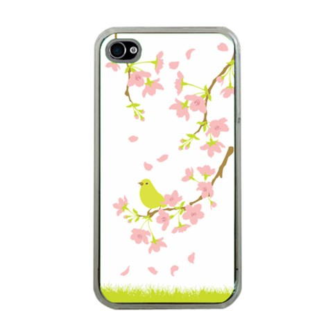Springbird By Divad Brown   Apple Iphone 4 Case (clear)   Oaiwavgncn6z   Www Artscow Com Front