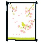 spring bird - Apple iPad 2 Case (Black)