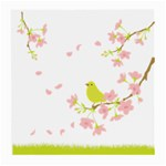 spring bird - Medium Glasses Cloth