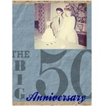 50th Anniversary Party - Greeting Card 4.5  x 6