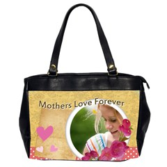 Mothers Day By Joely   Oversize Office Handbag (2 Sides)   I09cv8hxvxts   Www Artscow Com Front