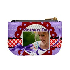 Mothers Day By Joely   Mini Coin Purse   Yjkky415hlsf   Www Artscow Com Back