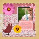 mothers day - ScrapBook Page 12  x 12