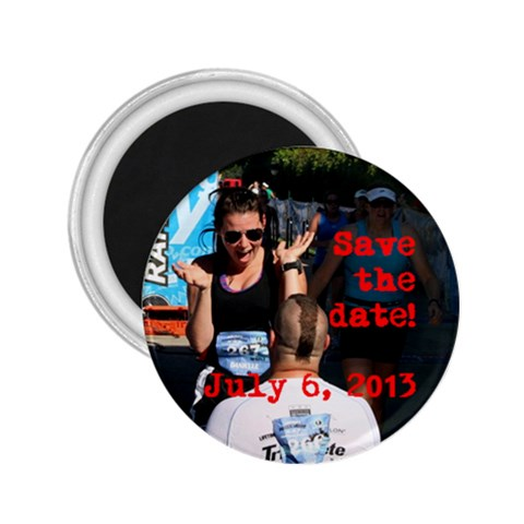 Savethedate 2 By Kim Stokes   2 25  Magnet   O9pjqueuz2we   Www Artscow Com Front
