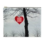 tree of friends  cosmetic bag (2 sides!, xl) - Cosmetic Bag (XL)