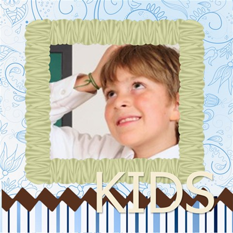 Kids By May   Scrapbook Page 8  X 8    Qmvv1h8tip4c   Www Artscow Com 8 x8 Scrapbook Page - 1