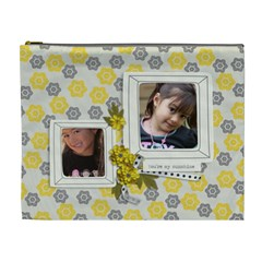 Xl Cosmetic Bag   Happiness 10 By Jennyl   Cosmetic Bag (xl)   Ef39yq0954ys   Www Artscow Com Front