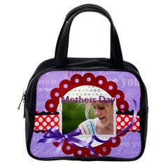 Mothers Day By Joely   Classic Handbag (two Sides)   Cdyy3rfabs4k   Www Artscow Com Back