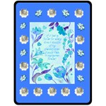 Flower Garden XL Blanket - Fleece Blanket (Large)