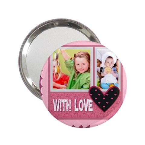 With Love By Mac Book   2 25  Handbag Mirror   3pyi5iv7uz3x   Www Artscow Com Front