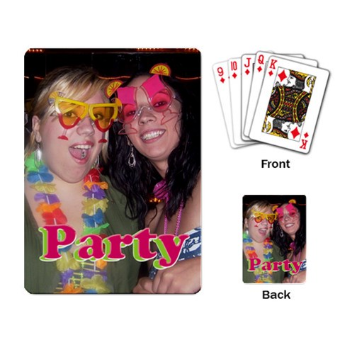 Shannon/jaymie Cards By Kan   Playing Cards Single Design   Ii97gxxpvyqv   Www Artscow Com Back