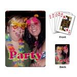 SHANNON/JAYMIE CARDS - Playing Cards Single Design