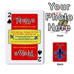Tap By B B    Playing Cards 54 Designs   Voyytyud1tq3   Www Artscow Com Front - Spade2