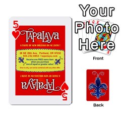 Tap By B B    Playing Cards 54 Designs   Voyytyud1tq3   Www Artscow Com Front - Heart5