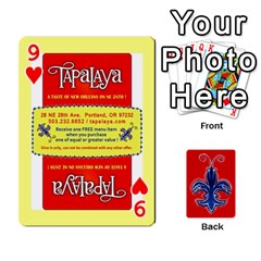 Tap By B B    Playing Cards 54 Designs   Voyytyud1tq3   Www Artscow Com Front - Heart9