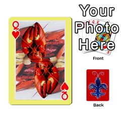 Queen Tap By B B    Playing Cards 54 Designs   Voyytyud1tq3   Www Artscow Com Front - HeartQ