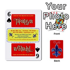 Tap By B B    Playing Cards 54 Designs   Voyytyud1tq3   Www Artscow Com Front - Spade6