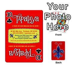 Tap By B B    Playing Cards 54 Designs   Voyytyud1tq3   Www Artscow Com Front - Club10