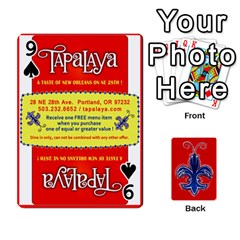 Tap By B B    Playing Cards 54 Designs   Voyytyud1tq3   Www Artscow Com Front - Spade9