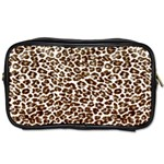 Just Snow Leopard Toiletries Bag (Two Sides)