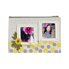 Large  Cosmetic Bag  Happiness 3 By Jennyl   Cosmetic Bag (large)   N09m36s8zgkn   Www Artscow Com Back