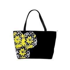 Dandelion1 Shoulder Bag (2 Sides) By Riksu   Classic Shoulder Handbag   07mqzkcp28zf   Www Artscow Com Front