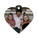 Mothers day 2012 - Dog Tag Heart (Two Sides)