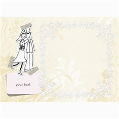 Wedding Cards By Zornitza   5  X 7  Photo Cards   Amjy3c2ao1oy   Www Artscow Com 7 x5 Photo Card - 2