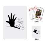 Rabbit Hand Shadow Standard Playing Cards