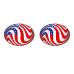 USA Cufflinks (Oval)