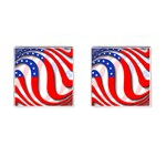 USA Cufflinks (Square)