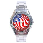 USA Stainless Steel Analogue Men's Watch
