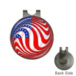 USA Golf Ball Marker Hat Clip
