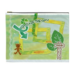 Nature Kids By Angena Jolin   Cosmetic Bag (xl)   Aidb3q3u4g1u   Www Artscow Com Front