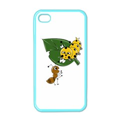 Animal World Apple Iphone 4 Case (color) by AnimalWorld