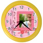 mothers day - Color Wall Clock