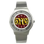 Spain Dark Stainless Steel Watch