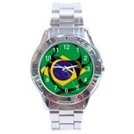 Brazil Stainless Steel Analogue Men's Watch