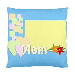Mom By Jacob   Standard Cushion Case (two Sides)   Vzojid6gi8b6   Www Artscow Com Front