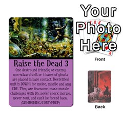 Hostile Realms Spells By Dave   Playing Cards 54 Designs   8al1a08v3quq   Www Artscow Com Front - Heart8