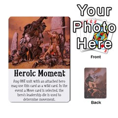 Hostile Realms Card Deck2 By Dave   Playing Cards 54 Designs   1fd93fthpyt5   Www Artscow Com Front - Club4